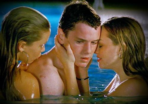 Anton Yelchin threesome