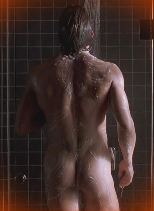 Christian Bale naked